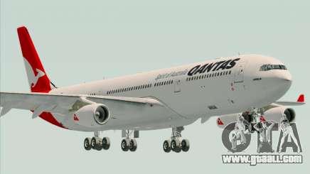 Airbus A340-300 Qantas for GTA San Andreas