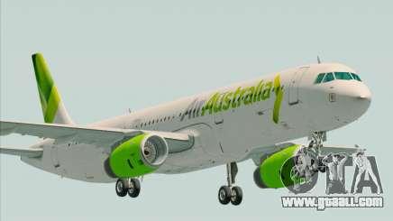 Airbus A321-200 Air Australia for GTA San Andreas