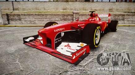Ferrari F138 v2.0 [RIV] Massa TSD for GTA 4