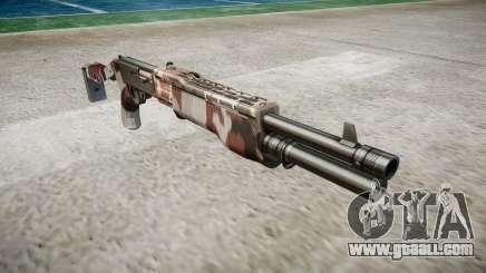Ружьё Franchi SPAS-12 Bloodshot for GTA 4