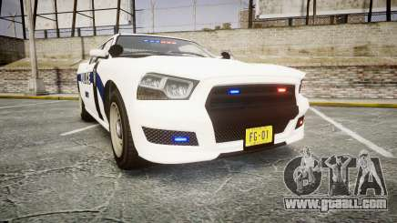 GTA V Bravado Buffalo Liberty Police [ELS] Slick for GTA 4