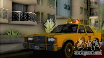 Willard Marbelle Taxi Saints Row Style for GTA San Andreas