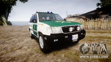 Toyota Land Cruiser Guardia Civil Cops [ELS] for GTA 4