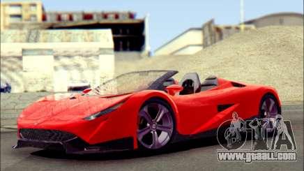 Specter Roadster 2013 for GTA San Andreas