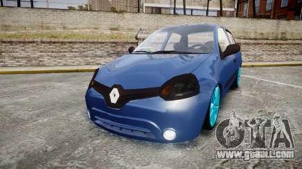 Renault Clio Mio 2014 for GTA 4