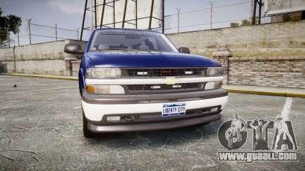Chevrolet Suburban Undercover 2003 Grey Rims for GTA 4