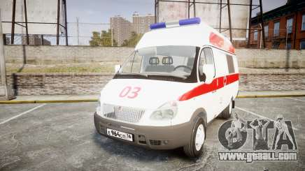 GAS-32214 Ambulance for GTA 4