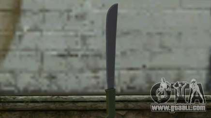 Machete (DayZ Standalone) v1 for GTA San Andreas