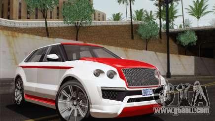 Huntley S for GTA San Andreas