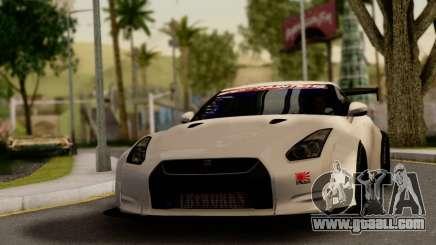 Nissan GTR Tuning for GTA San Andreas