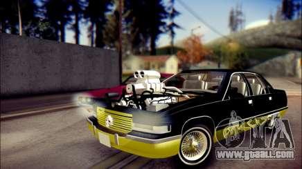 Cadillac Fleetwood 1993 Lowrider for GTA San Andreas