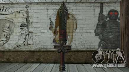 Sword from World of Warcraft for GTA San Andreas