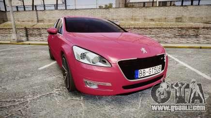 Peugeot 508 v1.2 for GTA 4