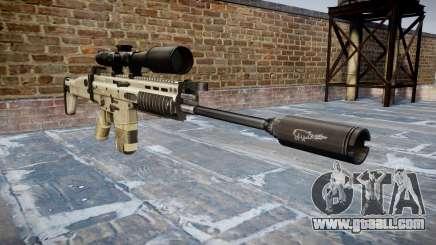 Rifle Mk 17 SCAR-H for GTA 4