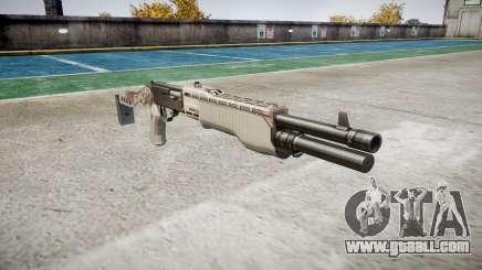 Ружьё Franchi SPAS-12 Choco for GTA 4