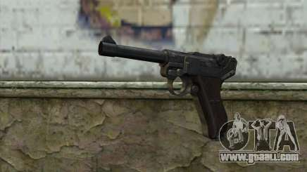 Luger P-08 for GTA San Andreas