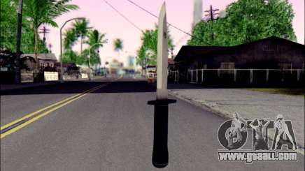 Knife from Death to Spies 3 for GTA San Andreas
