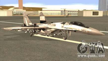 Sukhoi SU-35 BF3 for GTA San Andreas