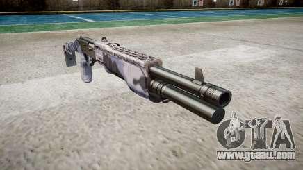 Ружье Franchi SPAS-12 Blue Tiger for GTA 4