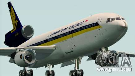 McDonnell Douglas DC-10-30 Singapore Airlines for GTA San Andreas