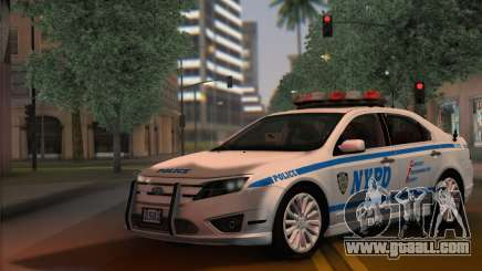 Ford Fusion NYPD v2.0 for GTA San Andreas