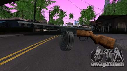 Gun Shpagina for GTA San Andreas