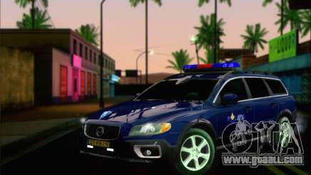 Volvo XC70 K9 Politie for GTA San Andreas