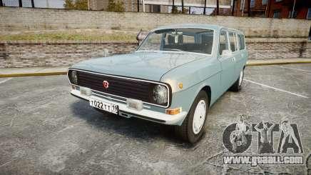 GAS-24-12 Volga Wh2 for GTA 4