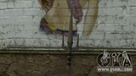 Knife from Deadpool for GTA San Andreas