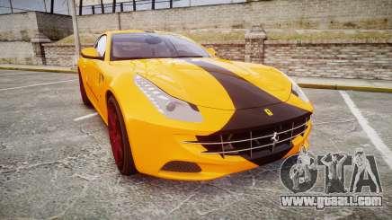 Ferrari FF 2012 Pininfarina Yellow for GTA 4