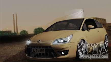 Citroen C4 VTS 2010 for GTA San Andreas