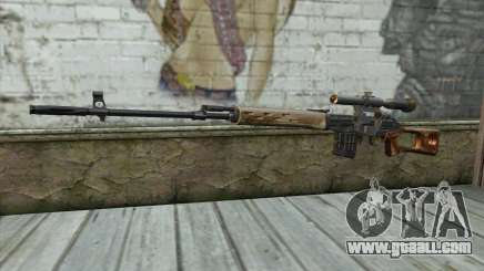 Sniper Rifle Dragunov for GTA San Andreas