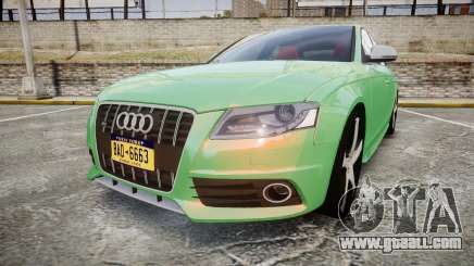 Audi S4 2010 FF Edition for GTA 4