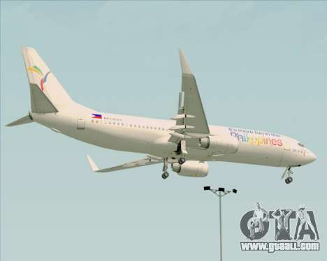 Boeing 737-800 South East Asian Airlines (SEAIR) for GTA San Andreas back view
