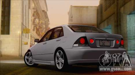 Toyota Altezza (RS200) 2004 (HQLM) for GTA San Andreas left view