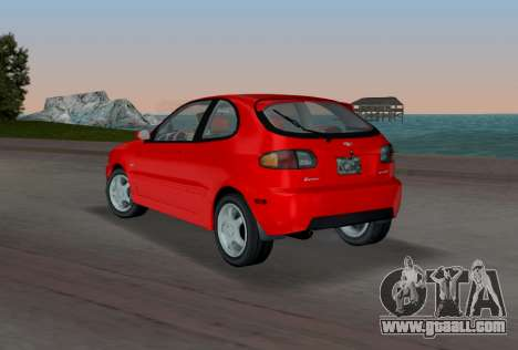 Daewoo Lanos Sport US 2001 for GTA Vice City back left view