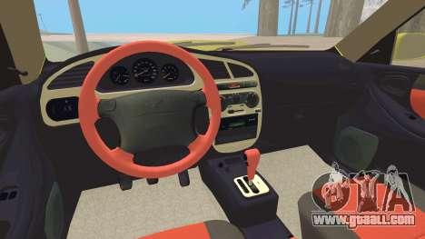 Daewoo Lanos Sport US 2001 for GTA San Andreas engine