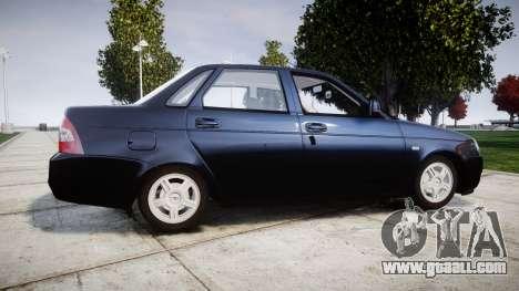 ВАЗ-2170 Lada Priora stock for GTA 4 left view