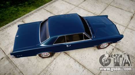 Pontiac GTO 1965 for GTA 4 right view