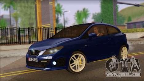 Seat Ibiza Cupra 2010 for GTA San Andreas
