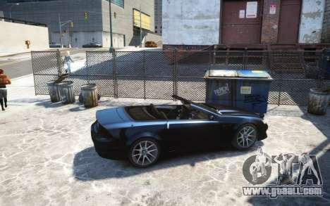 Benefactor Feltzer Grey Series v3 for GTA 4 left view