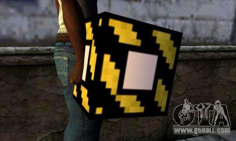 Block (Minecraft) v4 for GTA San Andreas third screenshot