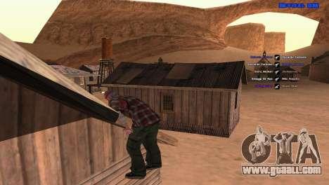 ped.ifp by Pavel_Grand for GTA San Andreas sixth screenshot