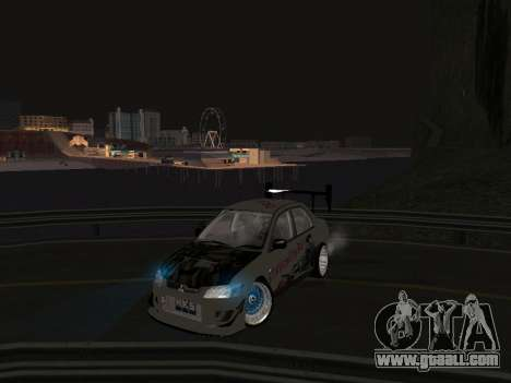 Mitsubishi Lancer Evo 9 VCDT for GTA San Andreas
