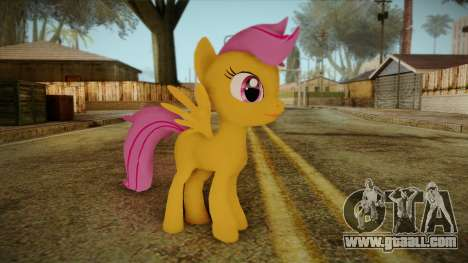 Scootaloo from My Little Pony for GTA San Andreas