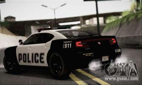 Bravado Buffalo S Police Edition (IVF) for GTA San Andreas left view
