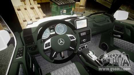 Mercedes-Benz G55 AMG Grand Edition Hamann for GTA 4 inner view