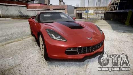 Chevrolet Corvette Z06 2015 TirePi2 for GTA 4