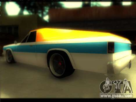 New Picador for GTA San Andreas left view