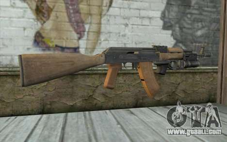 AK-74 To secure our for GTA San Andreas second screenshot